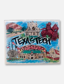 Texas Tech Red Raiders Traditions Collage Canvas Print
