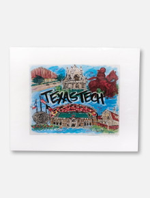 Texas Tech Red Raiders Traditions Collage 11x14 Print