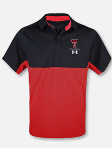 "Under Armour Texas Tech Red Raiders 2019 Sideline ""Tour Blocked"" Polo"