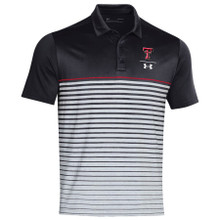 "Under Armour Texas Tech Red Raiders 2019 Sideline ""Pinnacle Stripe"" Polo"