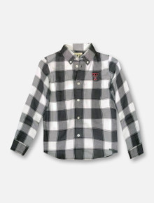 "Garb Texas Tech Red Raiders ""Cooper"" TODDLER Long Sleeve Button Down Shirt"