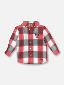 "Garb Texas Tech Red Raiders ""Cooper"" INFANT Long Sleeve Button Down Shirt"