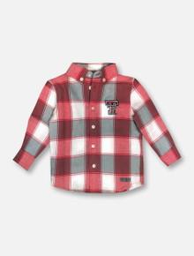 "Garb Texas Tech Red Raiders ""Cooper"" INFANT Long Sleeve Button Down Shirt"