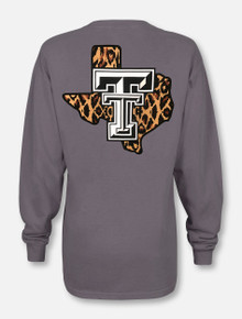 "Texas Tech Red Raiders ""Leopard Pride"" Long Sleeve T-Shirt"