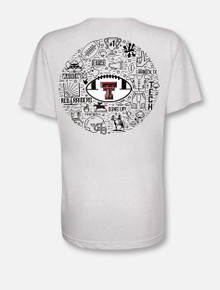 "Texas Tech Red Raiders ""Record Breaker"" V Neck T-Shirt"