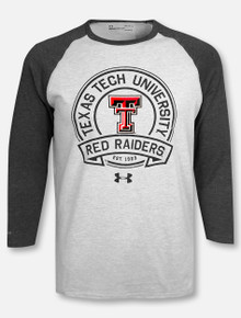 "Under Armour Texas Tech Red Raiders ""Circle Up"" Baseball Raglan T-Shirt"