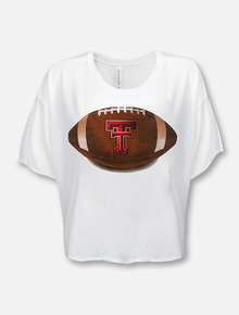 "Texas Tech Red Raiders ""Pigskin Legends"" Crop Top"