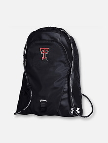 """Under Armour Texas Tech Red Raiders """"Undeniable"""" Sackpack in Black"""