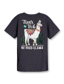 "Texas Tech Red Raiders""No Problem Llama"" YOUTH T-Shirt"