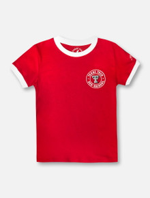 League Texas Tech Red Raiders Camp Ringer YOUTH T-Shirt