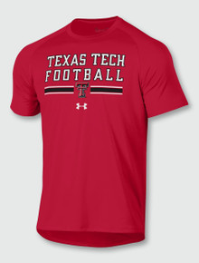 "Under Armour Texas Tech Red Raiders Football ""Wells Run Deep"" T-Shirt"