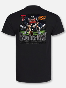 Texas Tech Red Raiders 2019 Energy Gameday Official (Tech vs. Oklahoma State) T-Shirt