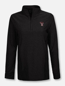 Peter Millar Texas Tech Red Raiders Women's 1/4 Zip Pullover