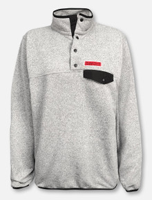 Summit Texas Tech Red Raiders Snap Placket Pullover