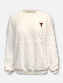 Summit Texas Tech Red Raiders Slouchy Drop Shoulder Pullover