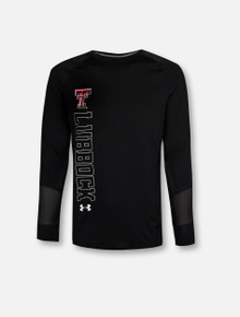 Under Armour Texas Tech Red Raiders YOUTH 2019 Sideline Training Long Sleeve Tee