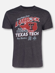 "Texas Tech Red Raiders Double T ""Best of the West 2019"" Final Four and CWS T-Shirt"