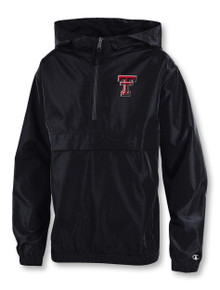 """Champion Texas Tech Red Raiders YOUTH """"Double T Recruiter"""" Pack and Go Jacket"""