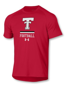 "Under Armour Texas Tech Red Raiders ""Dominate"" Football Short Sleeve T-Shirt"