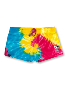 Texas Tech Red Raiders Double T Tie Dye Shorts