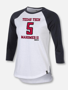Under Armour Texas Tech Red Raiders Women's Mahomes Raglan T-Shirt