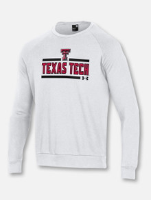 "Under Armour Texas Tech Red Raiders ""Bench Press"" Crew Sweatshirt"
