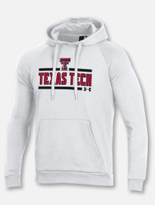 "Under Armour Texas Tech Red Raiders ""Bench Press"" Hooded Sweatshirt"