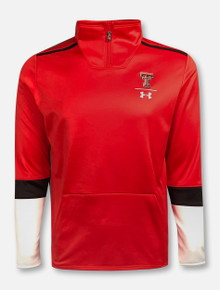 Under Armour Texas Tech Red Raiders 2019 Sideline 1/4 Zip Knit Pullover