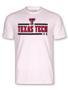 "Under Armour Texas Tech Red Raiders ""Bench Press"" Short Sleeve T-Shirt"