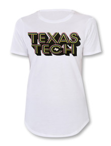 "Texas Tech Red Raiders ""Millennial"" Stack T-Shirt"