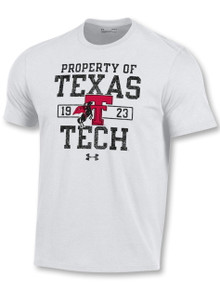 "Under Armour Texas Tech Red Raiders ""Trainer Tee"" Short Sleeve T-Shirt"