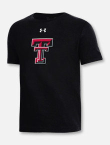 Under Armour Texas Tech Red Raiders YOUTH Double T Performance Short Sleeve t-Shirt