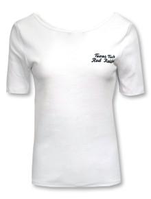 """Texas Tech Red Raiders """" Rib Ballet Back"""" Fashion T-Shirt"""