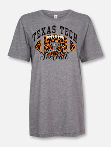 "Texas Tech Red Raiders ""Cheetah Football"" T-Shirt"
