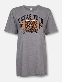 """Texas Tech Red Raiders """"Cheetah Football"""" T-Shirt"""