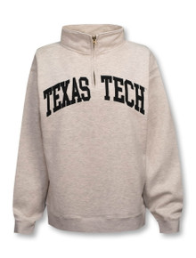 "Texas Tech Red Raiders Classic Arch ""Sport"" 1/4 Zip Pullover"