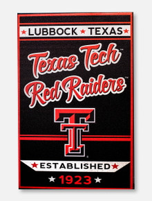 Texas Tech Red Raiders Double T Est. 1923 Canvas