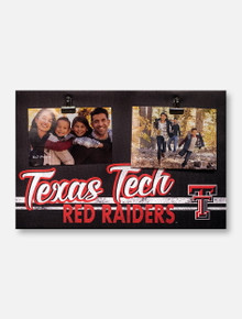 Texas Tech Red Raiders 18 x 12 Canvas Photo Plaque