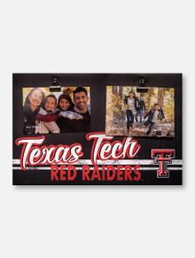 Texas Tech Red Raiders 18 x 12 Canvas Photo Plaque