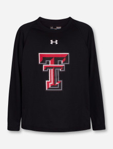 Under Armour  Texas Tech Red Raiders Double T Performance YOUTH Long Sleeve T-Shirt