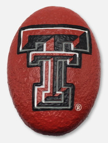 Texas Tech Red Raiders Double T Small Garden Rock Paperweight