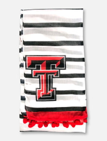 "Emerson Street Texas Tech Red Raiders ""Dylan"" Poof Scarf"