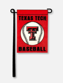 Texas Tech Red Raiders Baseball Garden Banner