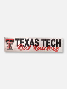 Texas Tech Red Raiders Double T Wood Sign