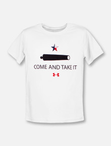 "Under Armour Texas Tech Red Raiders YOUTH ""Come and Take It"" Performance Short Sleeve T-Shirt"
