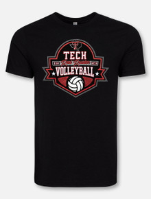 """Texas Tech """"Terrific Volleyball"""" T-Shirt"""