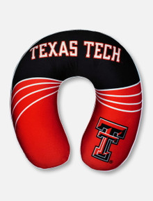 Texas Tech Double T Memory Foam Travel Neck Pillow