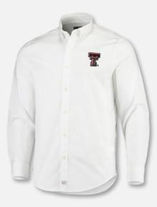 "Vineyard Vines Texas Tech Double T ""Classic Murray"" Long Sleeve Button Down Dress Shirt"
