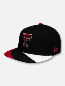 "New Era Texas Tech Red Raiders ""Curve"" Flat Bill Snapback Cap"