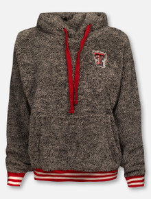 "Pressbox Texas Tech Red Raiders Red ""Northfolk Kandi"" Shaggy Pullover"